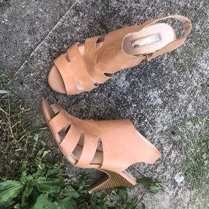 INC Giannah  Sling Back Sandals Size 8.5